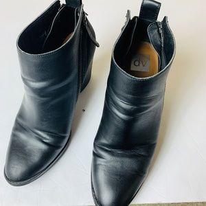 Dolce Vita Women Boot Shoe Black Zipper Size 11